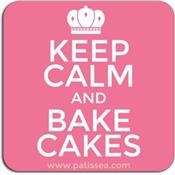 Magnet Keep calm and bake cakes