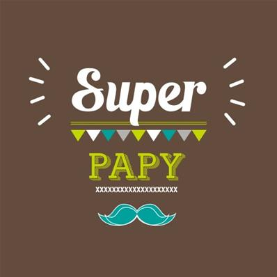 Tablier adulte Super Papy