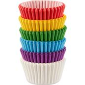 Mini caissettes multicolores x150