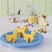 Kit pour biscuits animaux debout