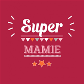 Tablier adulte Super Mamie